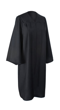 Black Graduation Unisex Matte Gown