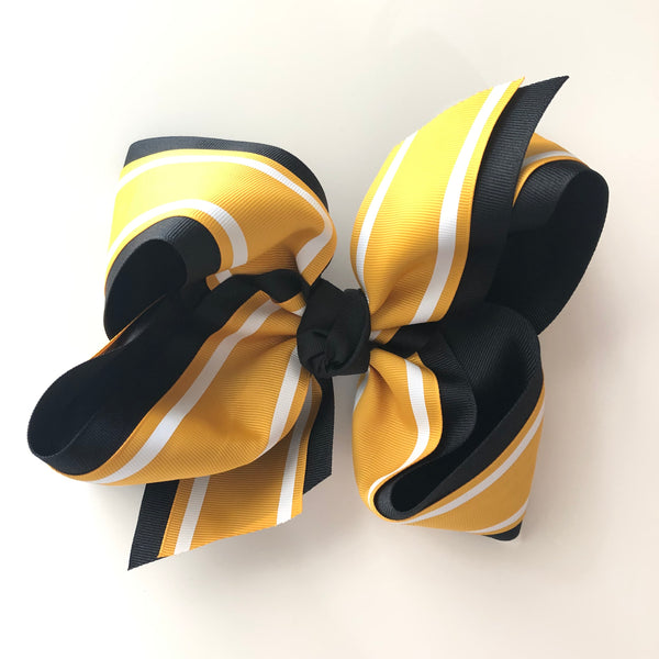Large Stripe Hairbow