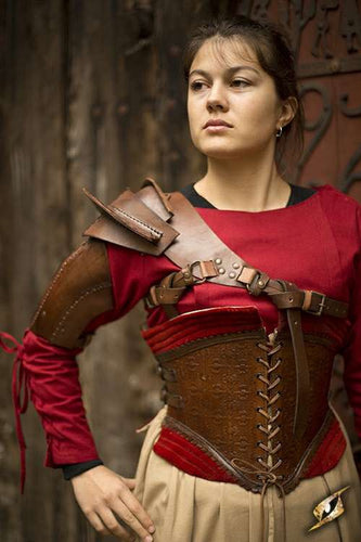 Leather Shoulder Armour