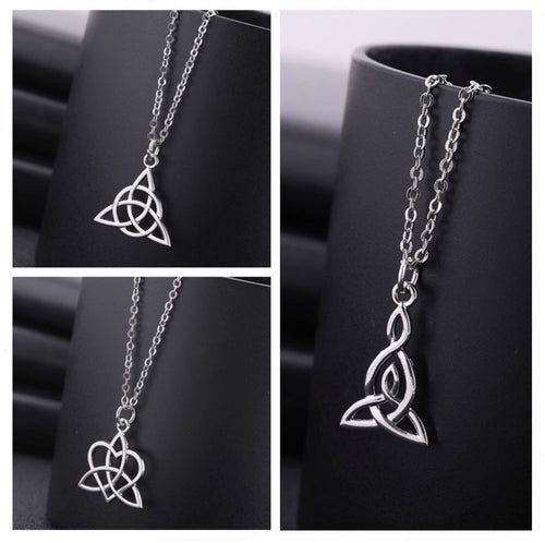 Silver Base Metal Celtic Pendants