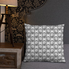Load image into Gallery viewer, Ornate Phrenology Cushion