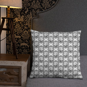 Ornate Phrenology Cushion