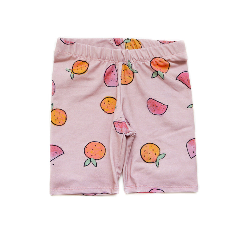 Citrus Fruit Bike Shorts