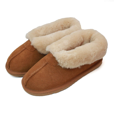 ECL959 Ladies Sheepskin Slipper Boot