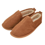 ECM002 Men's Sheepskin Slipper With Soft Suede Sole