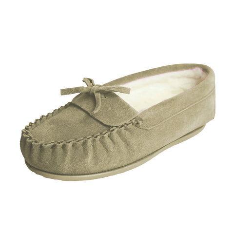 Wool Lined Moccasins