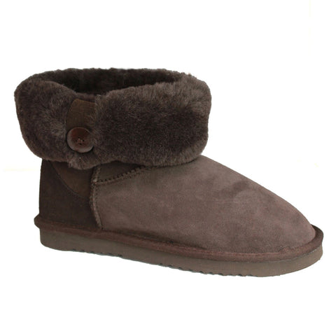 Sheepskin Boot With Low Cuff