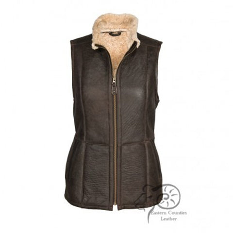 Gilly Ladies Aviator Finish Gilet