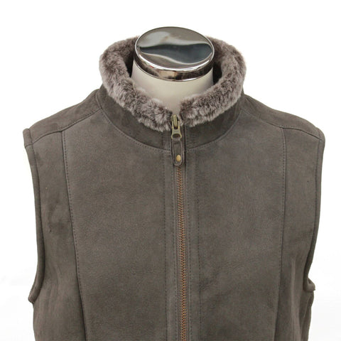 Ladies Sheepskin Gilet