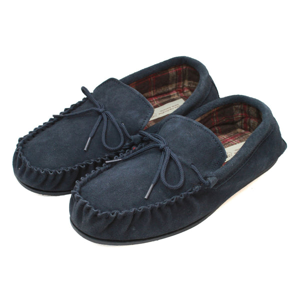 Men's Suede Moccasin