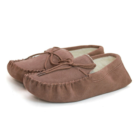 Unisex Sheepskin Lined Moccasin