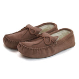 GWM1 Unisex Wool Lined Moccasin