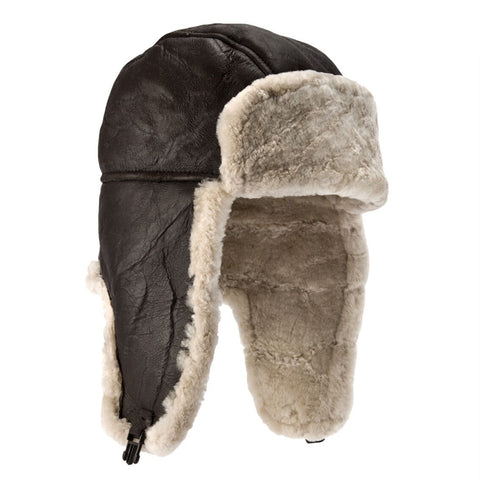 Heydon Sheepskin Flying Hat