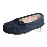 Ivy Fabric Lined Moccasins