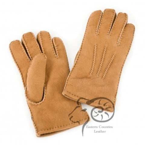 Ladies Sheepskin Glove With Stitch Detail