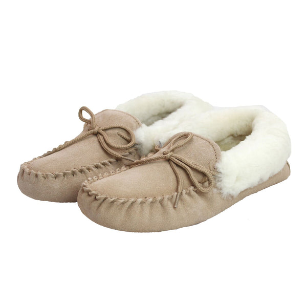 LSM1 Ladies Sheepskin Lined Moccasin