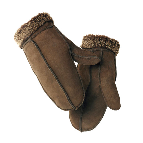 Ladies Sheepskin Split Seam Mitten