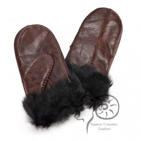 Ladies Toscana Sheepskin Mittens
