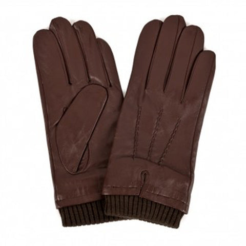 Men's Premium Leather Glove With Cuff