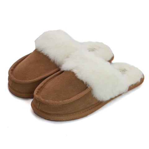 fd0503b9491d Ladies Wool Lined Slipper – Eastern Counties Leather