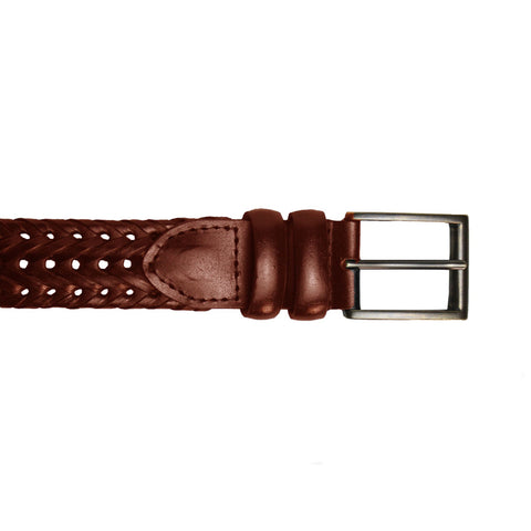 RRB25 Plaited Leather Belt