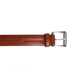 Braided Feature Leather Belt