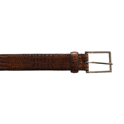 Mock Croc Effect Belt