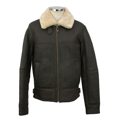 Shaun Men's Straight Zip Flying Jacket