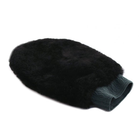 Sheepskin Polishing Mitt