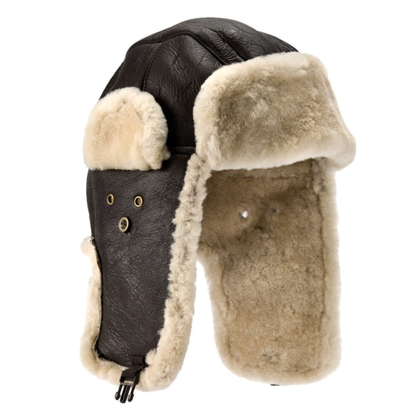 Shelford Sheepskin Pilot Hat