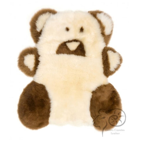 Teddy Bear Sheepskin Rug