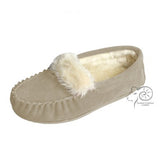Zoe Plush Lined Moccasins