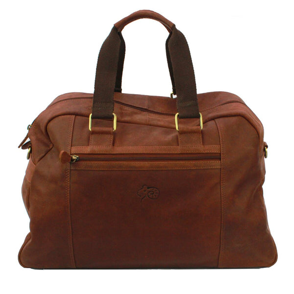 Hugh Leather Holdall
