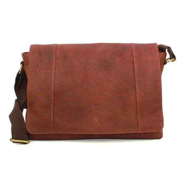 Jacob Leather Messenger Bag