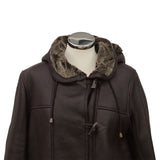 Millie Ladies Sheepskin Duffle Coat