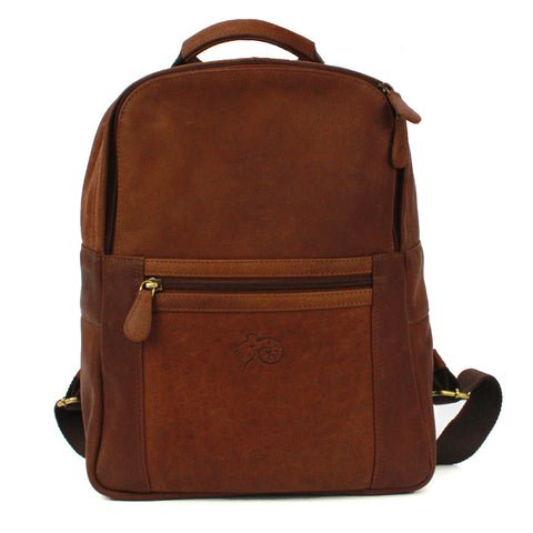 Ross Leather Backpack
