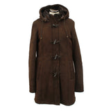 Ladies Sheepskin Duffle Coat