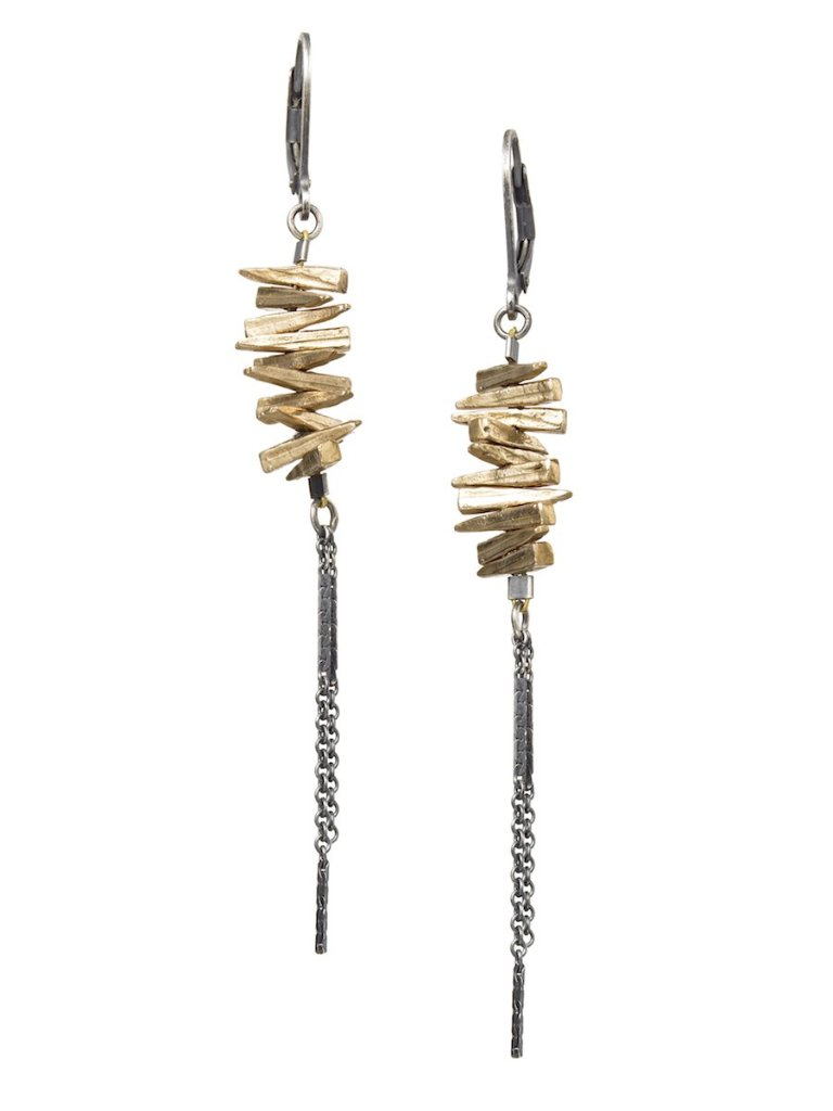 spike-earrings-bronze