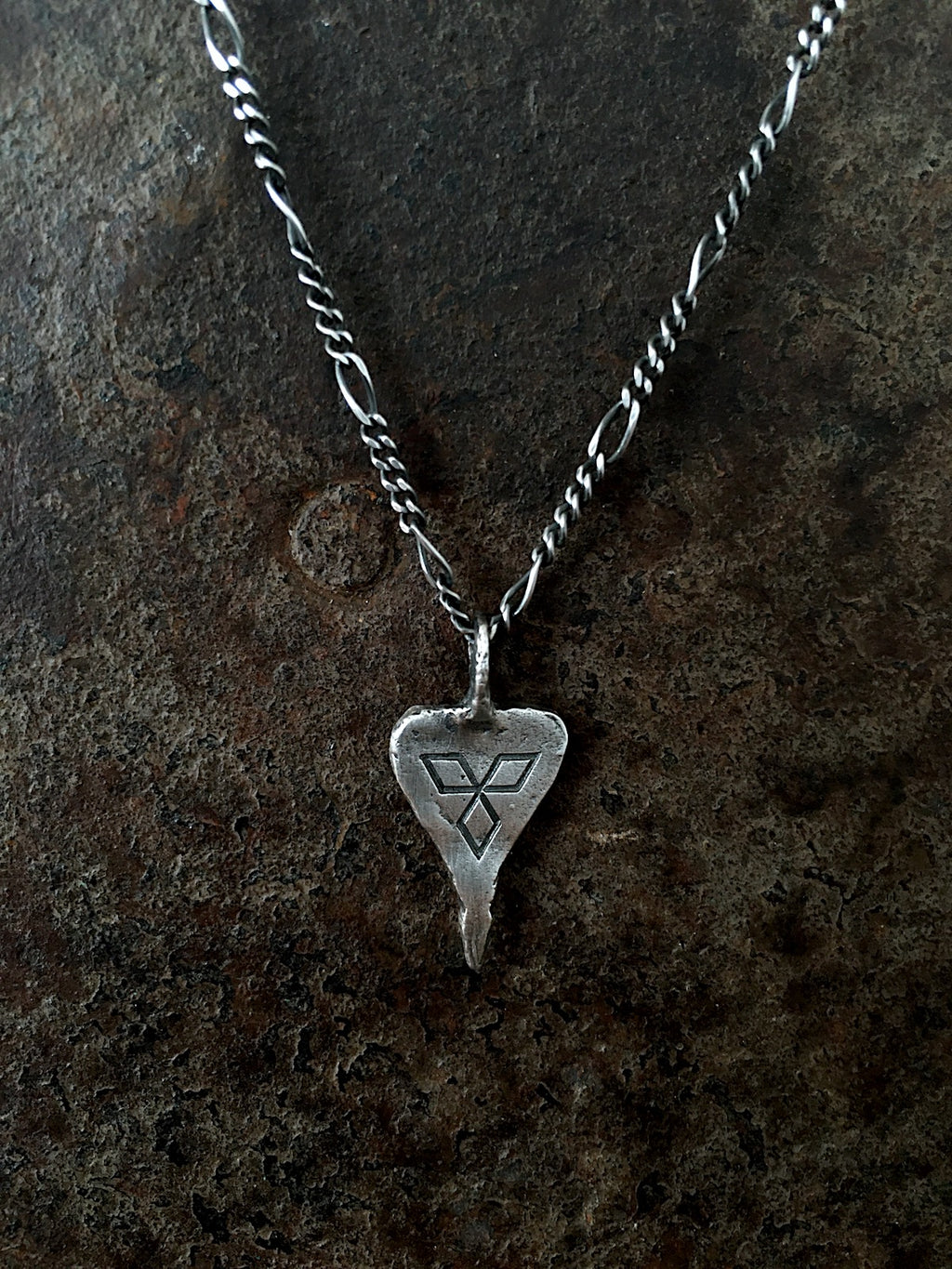 Viking Heart Pendant