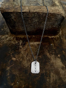 XXX Mini Dog tag