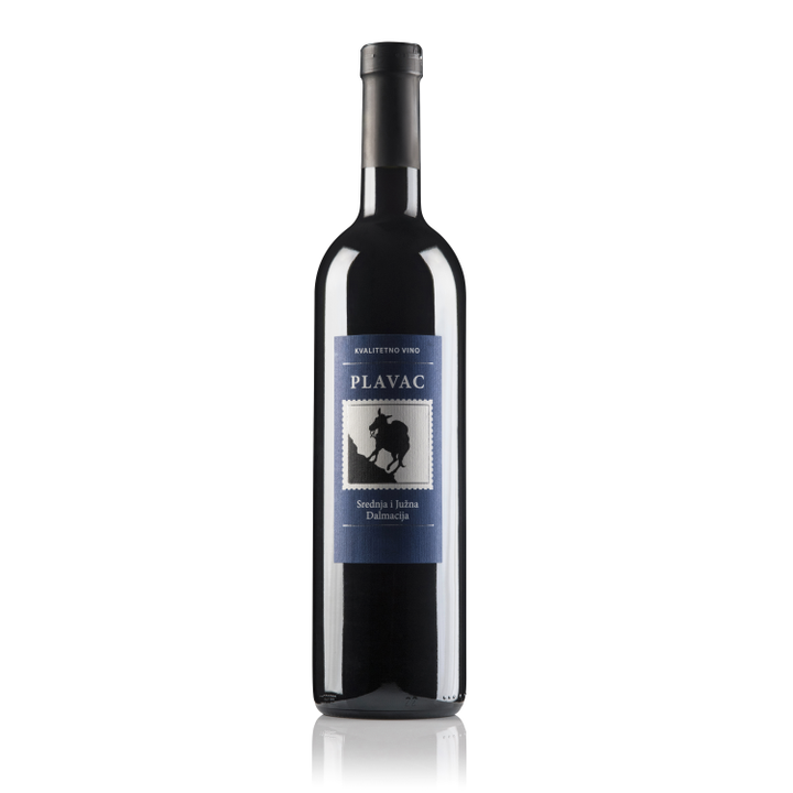 BADEL Plavac Mali Dry Quality Red Wine 6/750ml