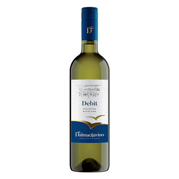 DALMACIJA VINO Debit Dry White Wine K-Q 6/750ml