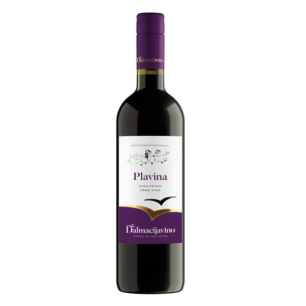 DALMACIJA VINO Plavina Dry Red Wine K-Q 6/750ml