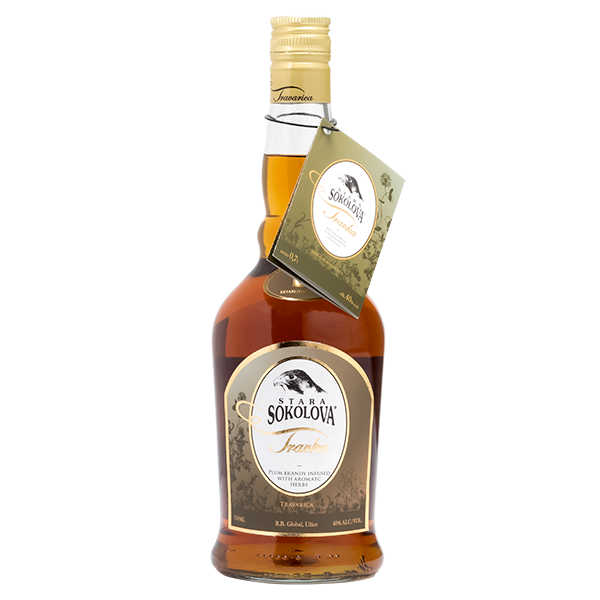 STARA SOKOLOVA Travka Herbal Brandy 6/750ml