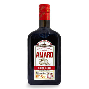 DARNA Liquor Amaro [Herbal Liquor] alc. 28% 6/750ml