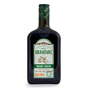 DARNA Liquor Orahovac [Walnut Liquor] alc. 20% 6/750ml