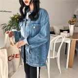 Vista Karina Blue Fashionable Women Denim Jacket