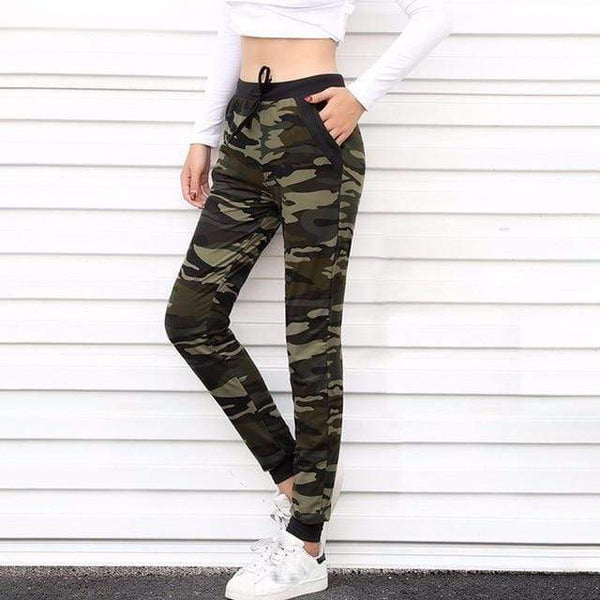 Vista Karina Camo / S Light Weight Camo Print Joggers