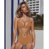 Vista Karina light brown / S Tropical Bathing Suit