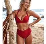 Vista Karina Red / S Tropical Bathing Suit